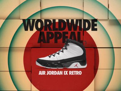 AIR JORDAN 9 - LA Release Date